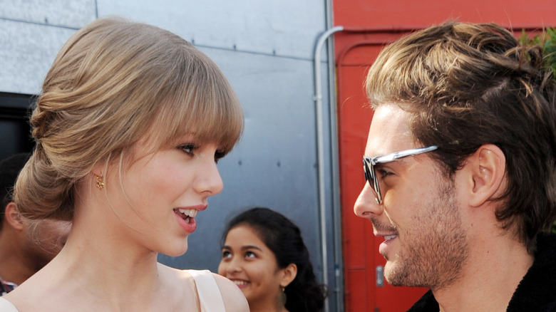 """Taylor Swift and Zac Efron promoting """"The Lorax"""""""