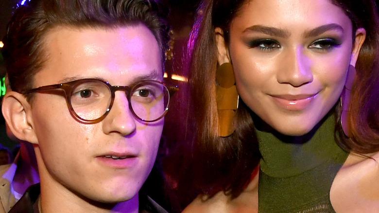 Zendaya and Tom Holland at Oscars