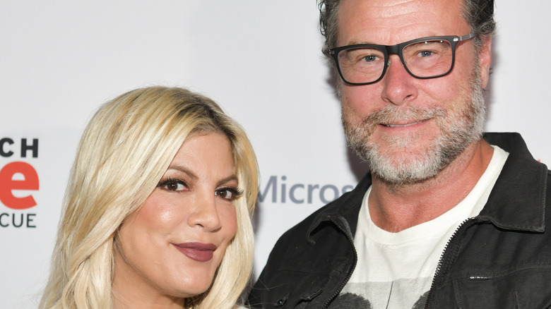 Tori Spelling and Dean McDermott at event