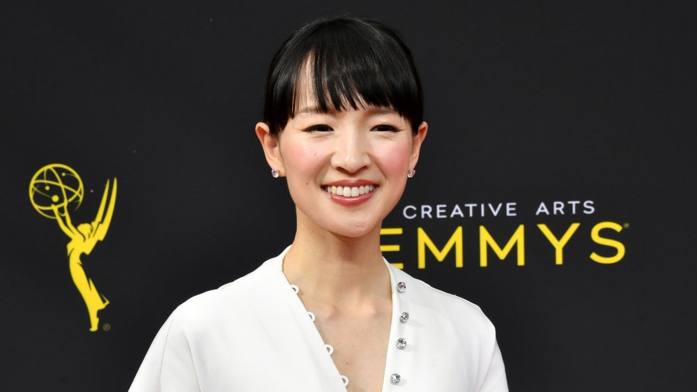 Marie Kondo smiling at the Emmys