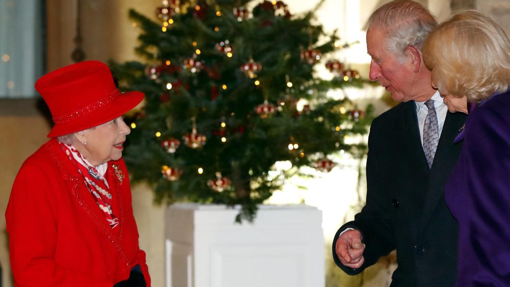 Queen Elizabeth Prince Charles Camilla