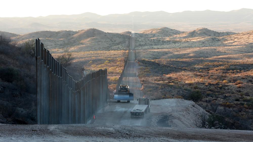 The US-Mexico border wall