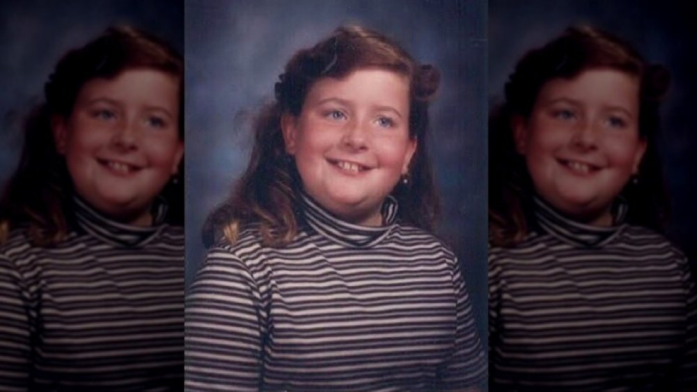 Aidy Bryant as a child