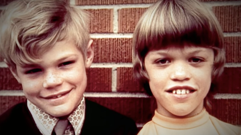 young Amy Roloff with brother Roger