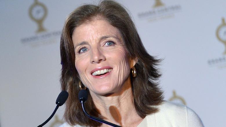 Caroline Kennedy speaking at an event
