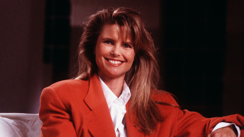 young Christie Brinkley smiling