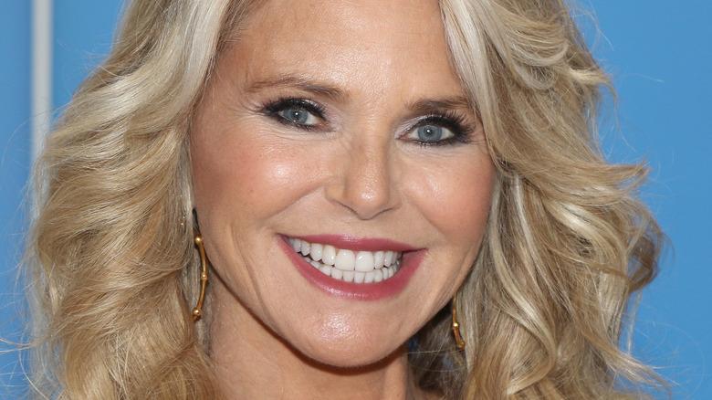 Christie Brinkley smiling