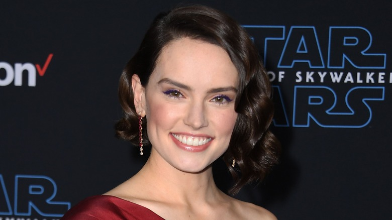 Daisy Ridley at Skywalker premiere