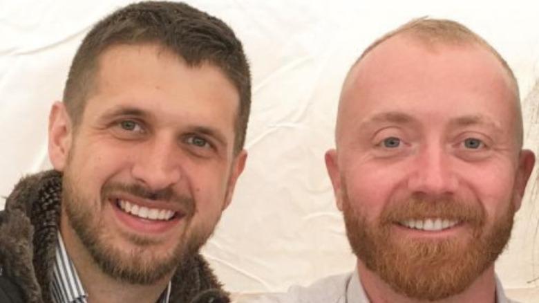 Evan Thomas, Keith Bynum close-up