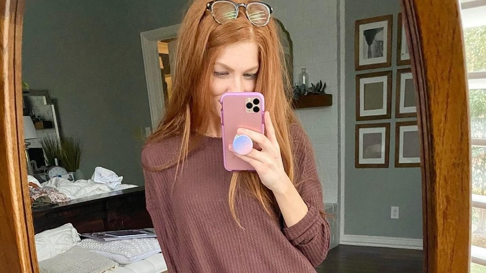 Jennifer Todryk taking a selfie