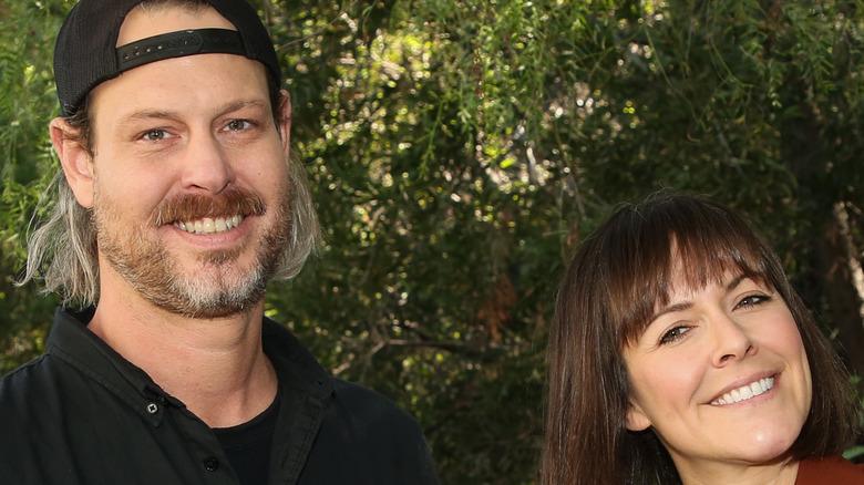 Steve Ford, Leanne Ford smiling
