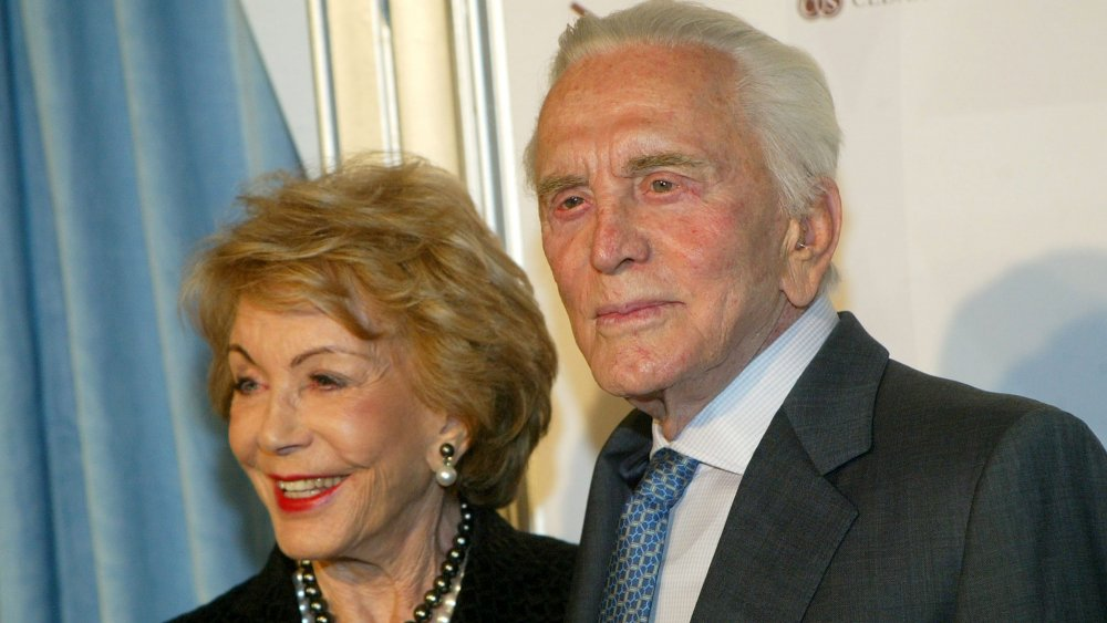 Kirk and Anne Douglas early 2000s