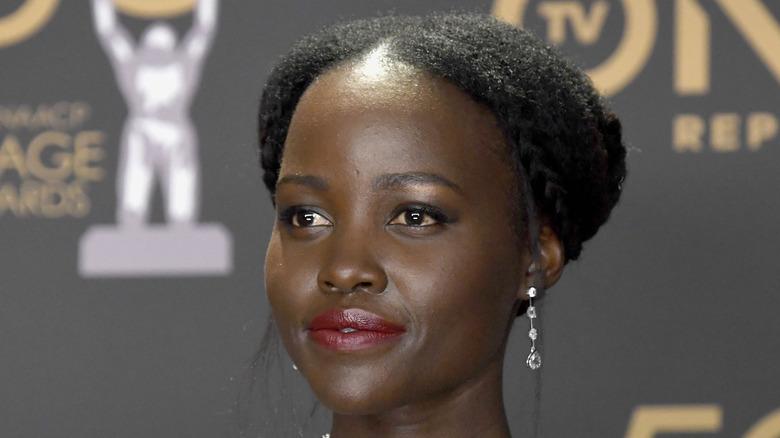 Lupita Nyong'o up-close