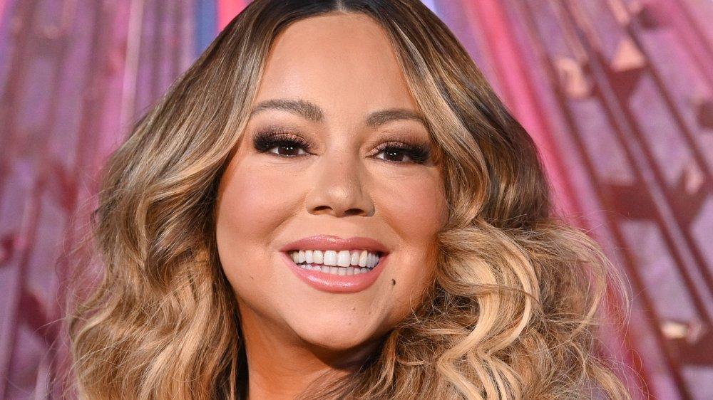 Mariah Carey in NYC in 2019