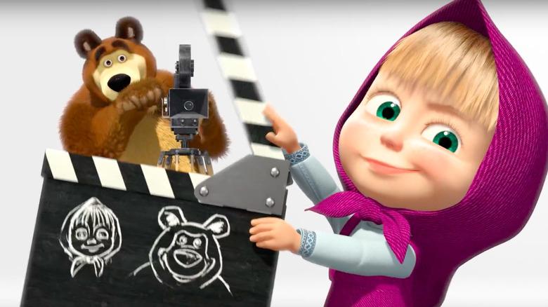 Masha and the Bear opening image