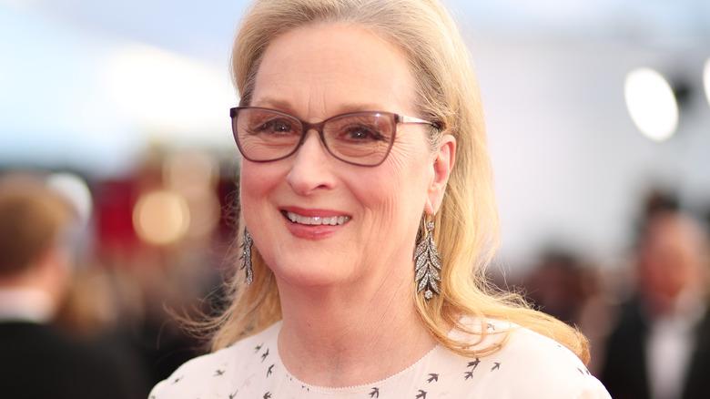 Meryl Streep close-up