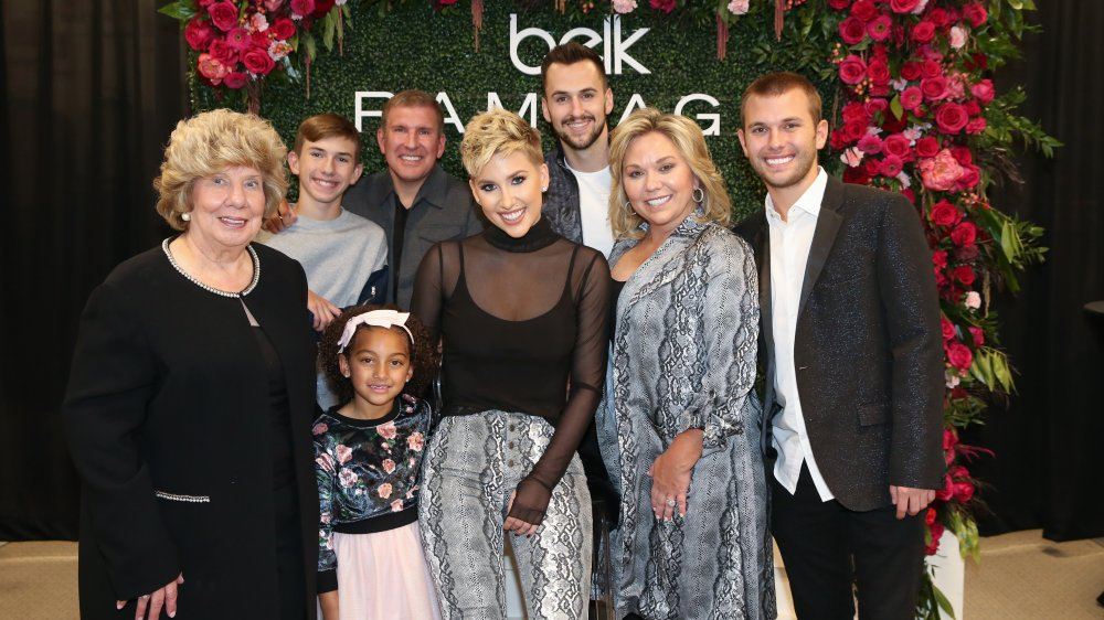 The Chrisley family at an event together