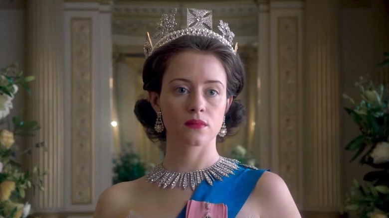 Claire Foy as the Queen in Netflix's The Crown