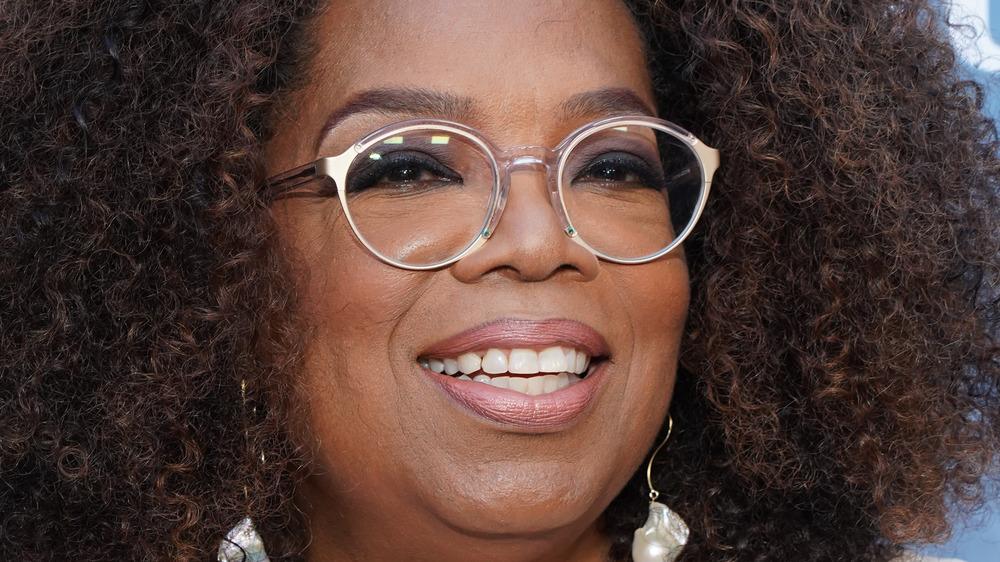 Oprah Winfrey, close-up