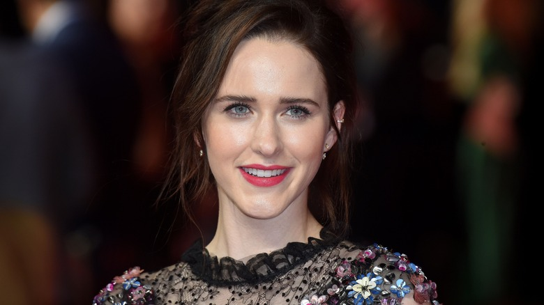 The Marvelous Mrs. Maisel star Rachel Brosnahan close-up