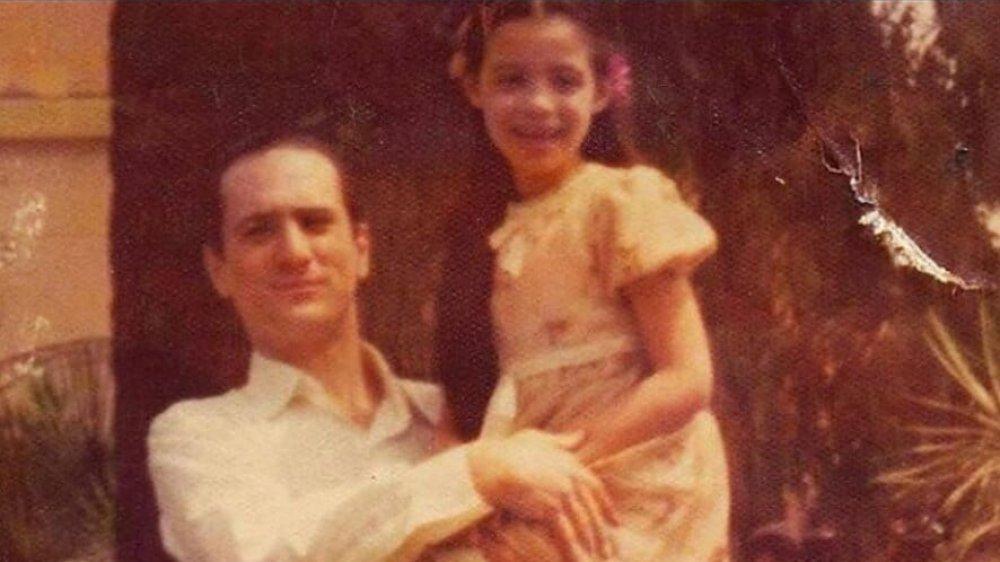 Drena De Niro with her father Robert De Niro