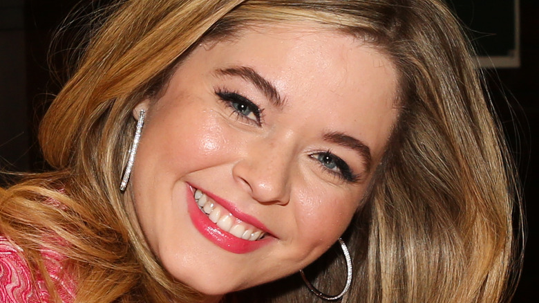 Sasha Pieterse smiling