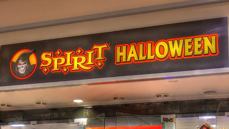The storefront of Spirit Halloween