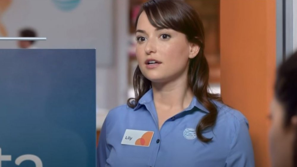 AT&T commercial girl acting