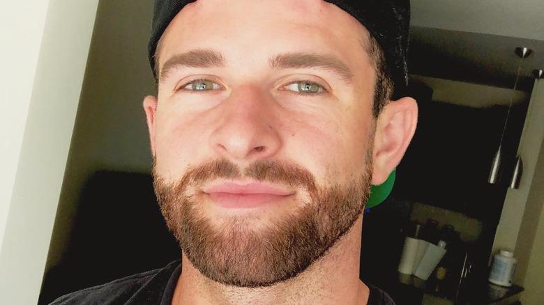 The Bachelorette's Jed Wyatt close-up