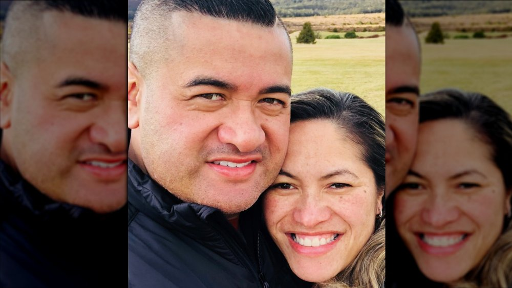 The Casketeers star Francis and Kaiora Tipene in an Instagram selfie