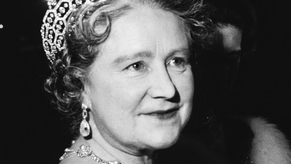 Queen Mother smiling