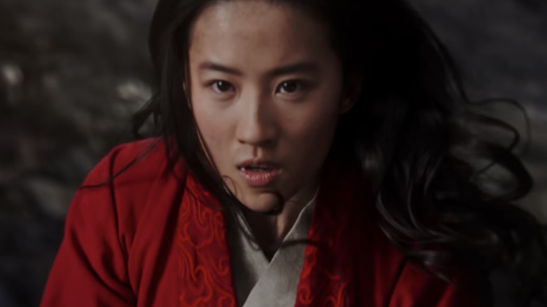 Liu Yifei, the star of the live-action Mulan movie