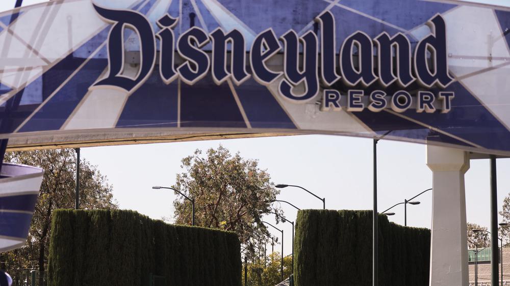 Exterior shot of Disneyland Resort