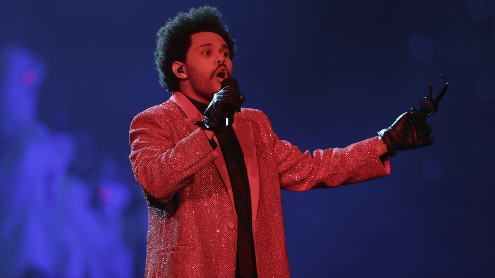 The Weeknd Super Bowl LV