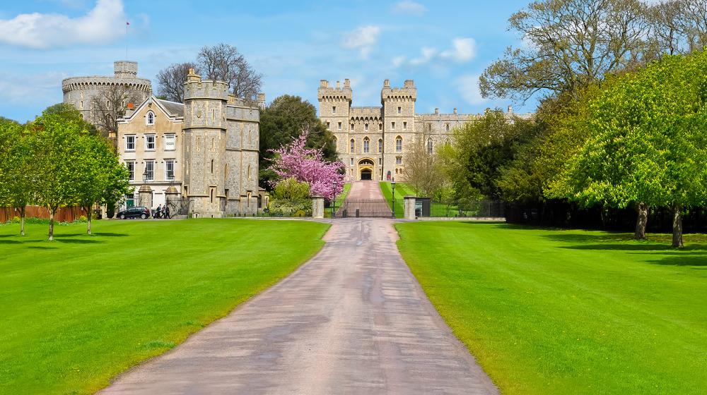 Windsor Castle in the spring