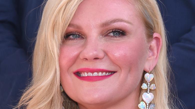 Kirsten Dunst smiling