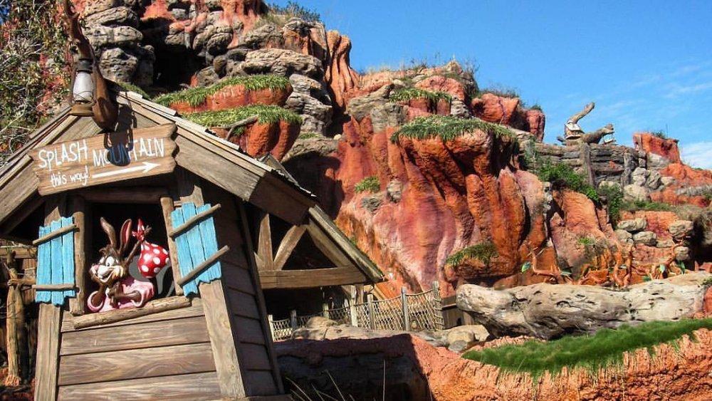Disneyland's Splash Mountain