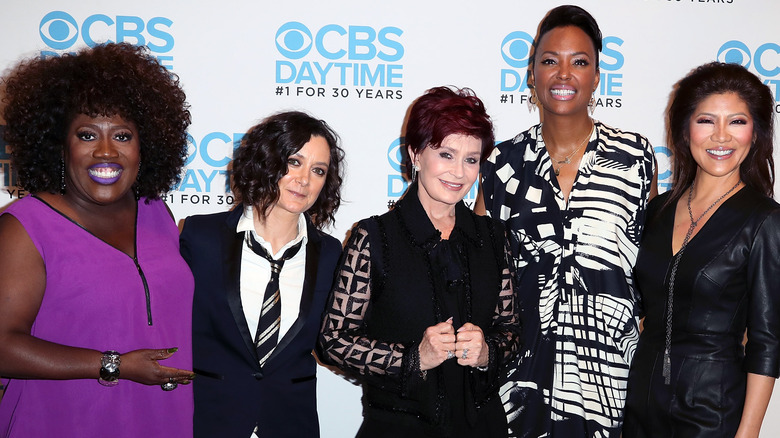 The Talk cast on the red carpet