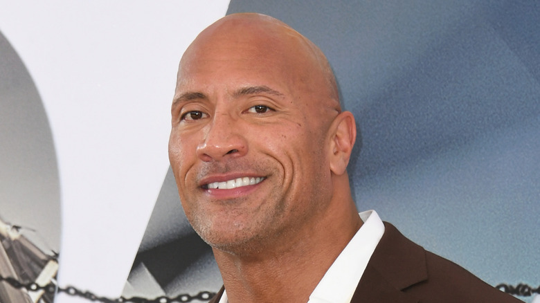 actor Dwayne Johnson, who declined to shoot with a co-star