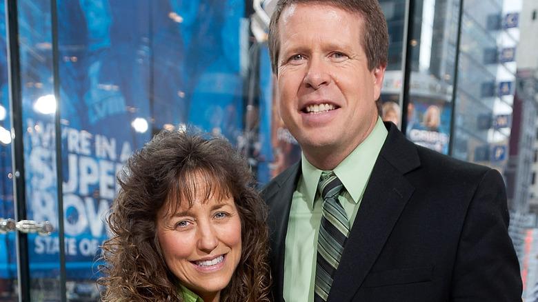 Michelle and Jim Bob Duggar 2014