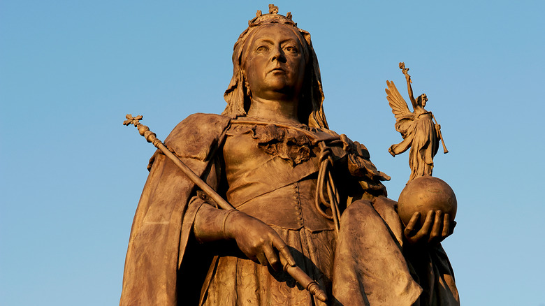 The Queen Victoria memorial in London