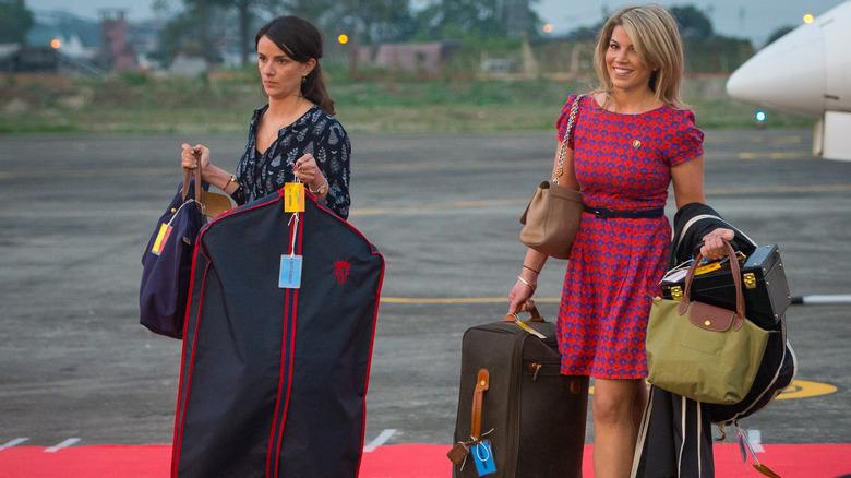 royal family luggage