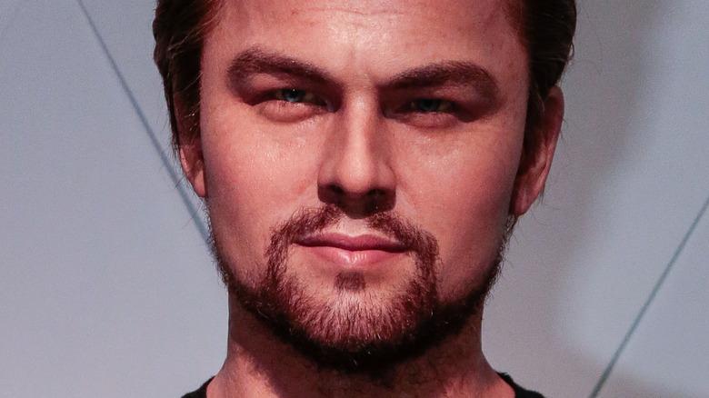 Leonardo DiCaprio intense stare