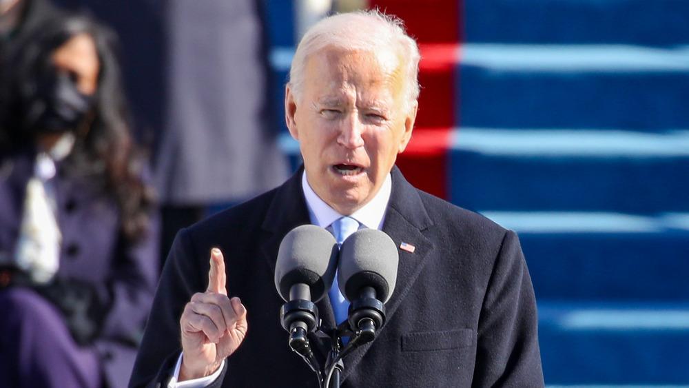 Joe Biden speaking