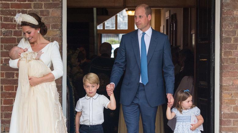 Kate Middleton, Prince Louis, Prince George, Prince William, Princess Charlotte