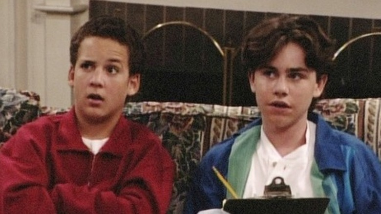 Cory and Shawn in Boy Meets World