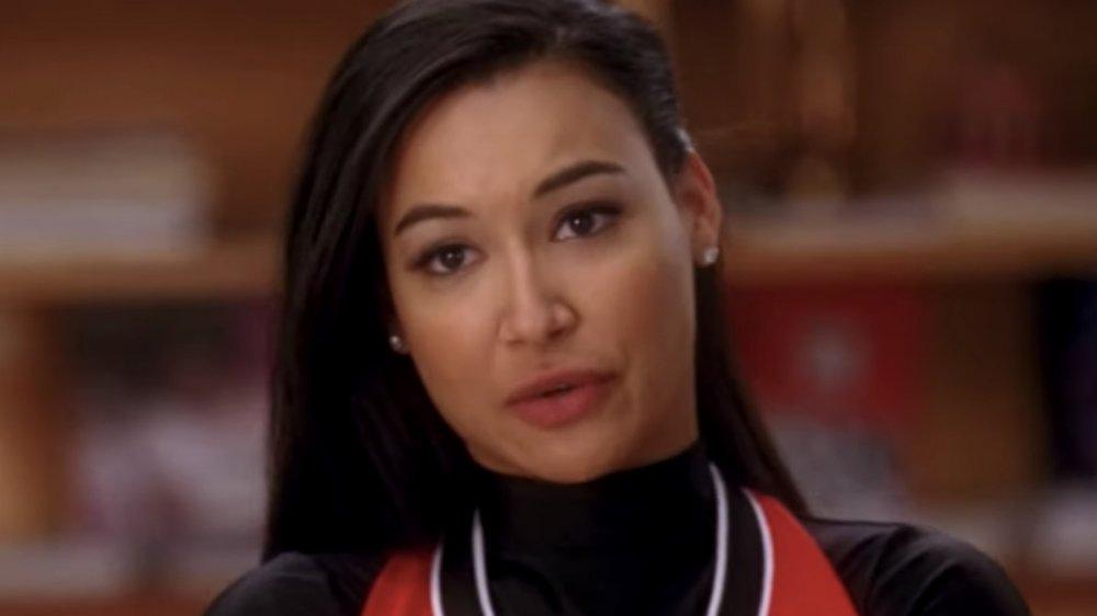 Naya Rivera as Santana on Glee