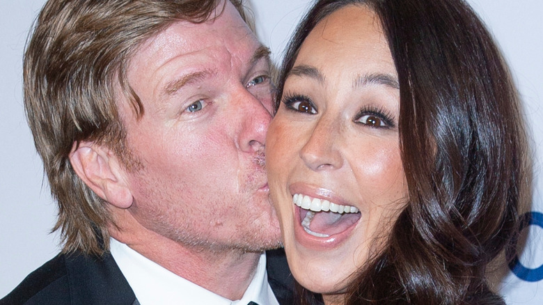 Chip and Joanna Gaines, close-up