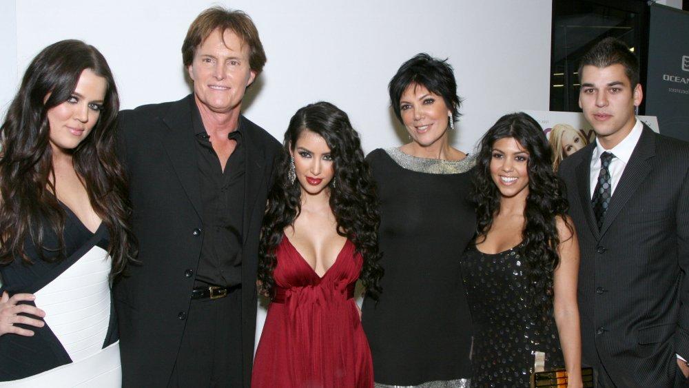 Five members of the Kardashian-Jenner family