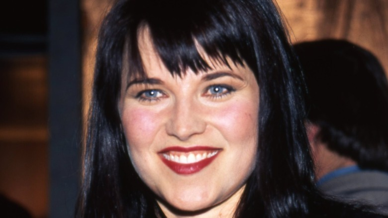 Lucy Lawless close-up